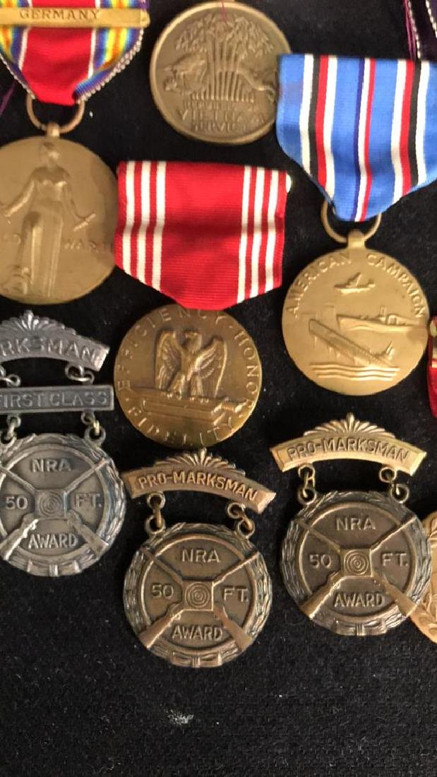 Group Lot 17 Military Medals, Antique and Vintage - 3