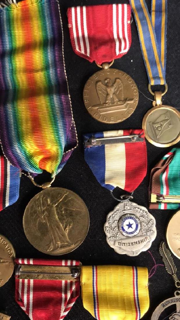Group Lot 17 Military Medals, Antique and Vintage - 5