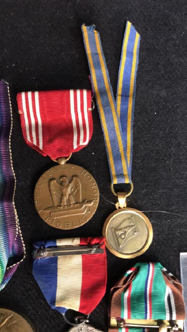Group Lot 17 Military Medals, Antique and Vintage - 6