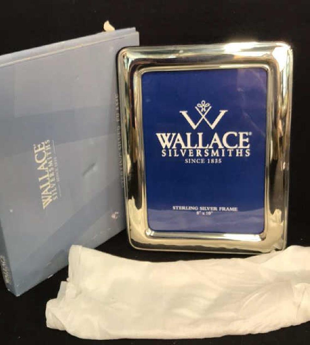 Wallace Sterling Silver Picture Frame w Box, Italy