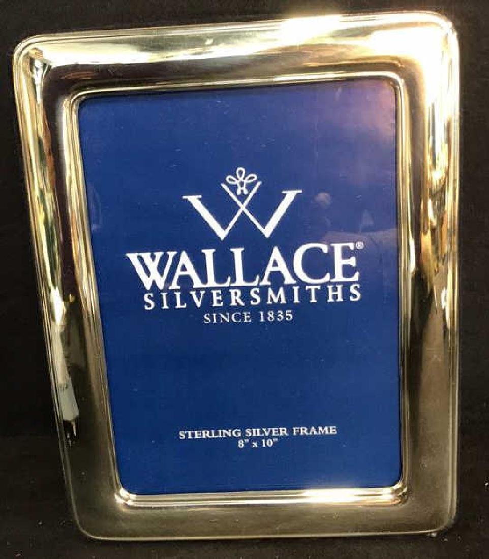 Wallace Sterling Silver Picture Frame w Box, Italy - 2