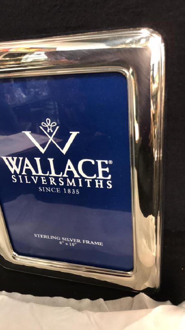 Wallace Sterling Silver Picture Frame w Box, Italy - 5