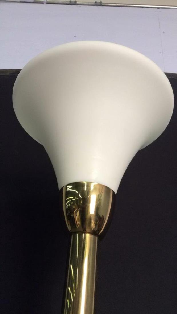 Gold Toned Floor Lamp - 5