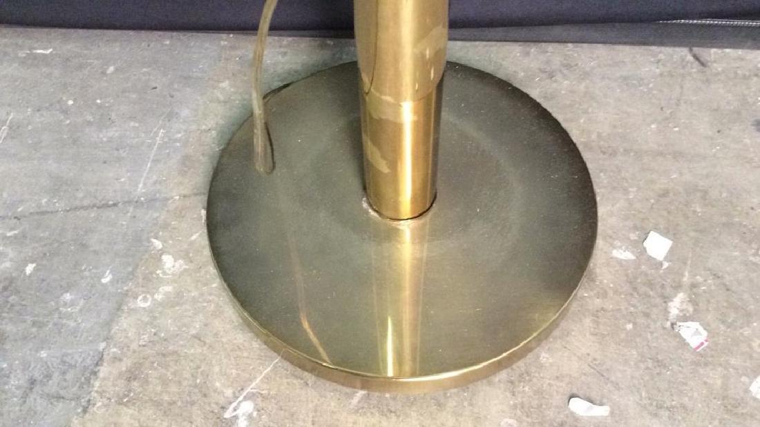 Gold Toned Floor Lamp - 6