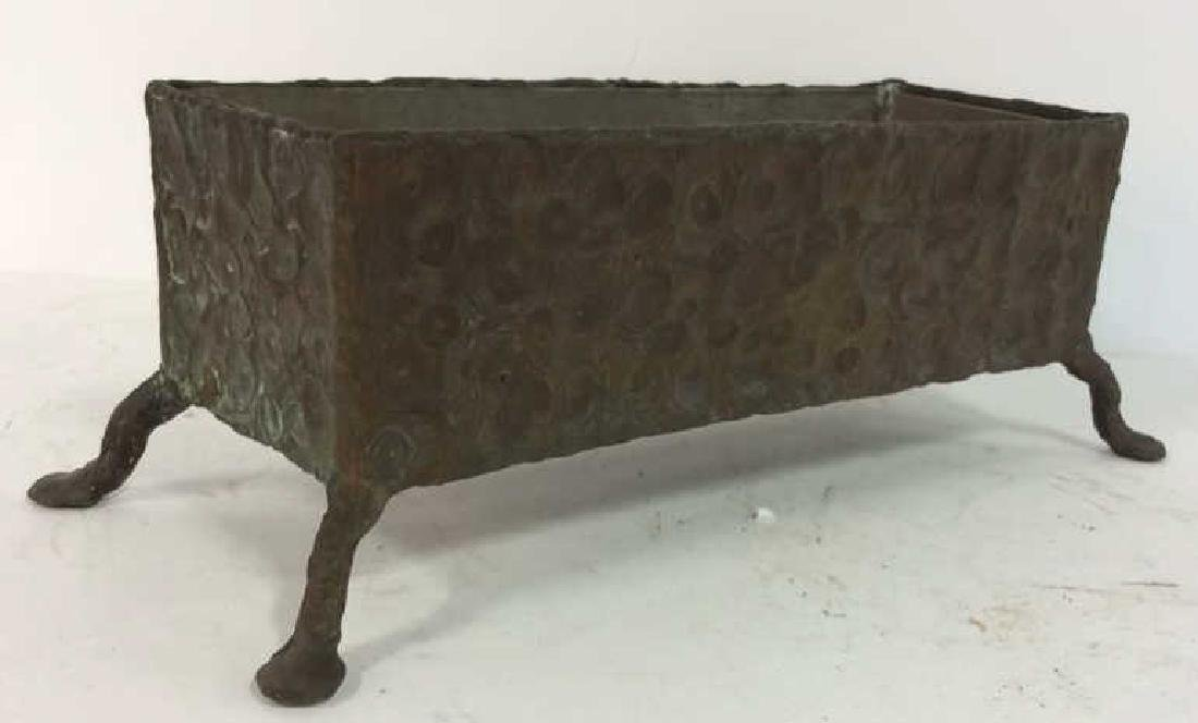 Hammered Bronze Planter Window Box - 10