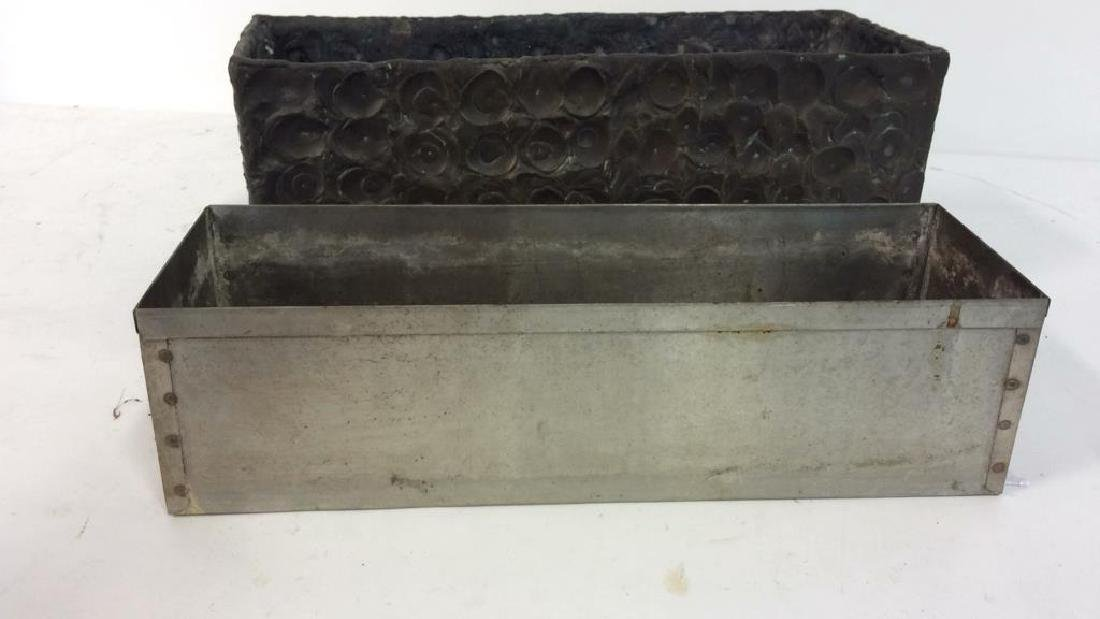 Hammered Bronze Planter Window Box - 6
