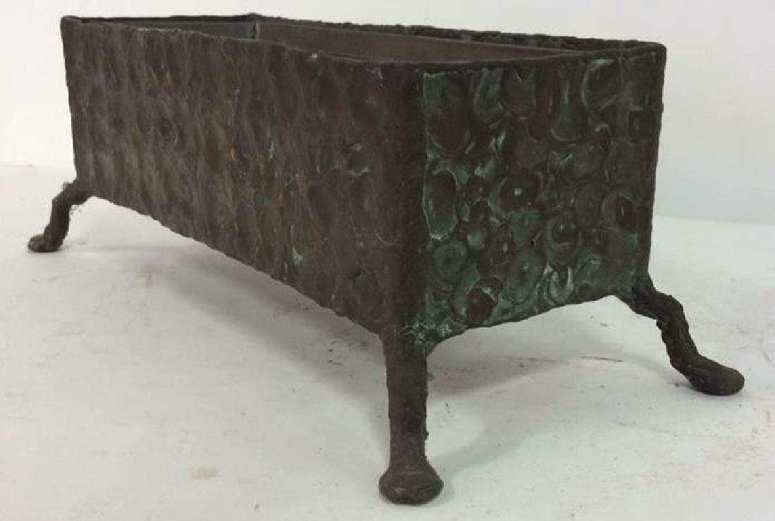 Hammered Bronze Planter Window Box - 8