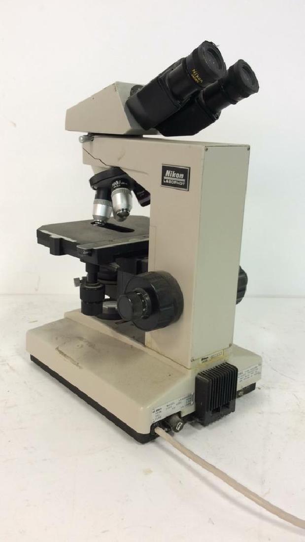 Vintage NIKON Microscope - 2