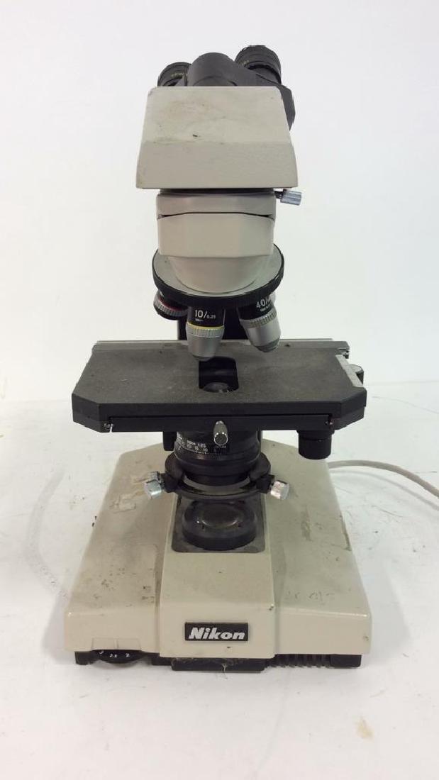Vintage NIKON Microscope - 4