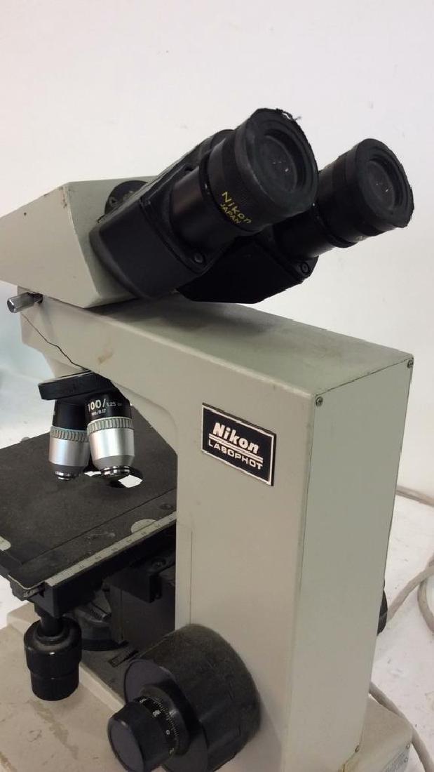 Vintage NIKON Microscope - 8
