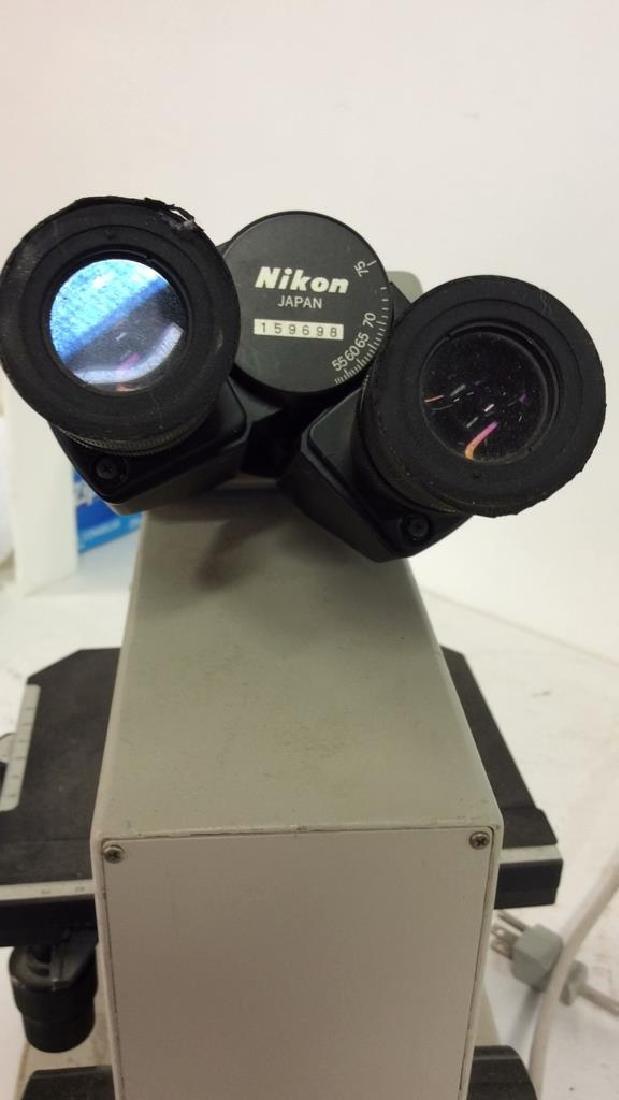 Vintage NIKON Microscope - 9