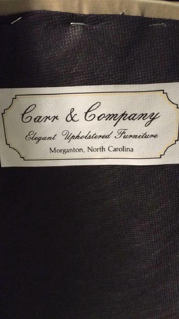 CARR & COMPANY Tufted Oval Shaped Ottoman - 7