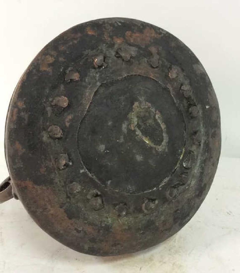 Islamic Copper Bucket w Jug Handles - 9