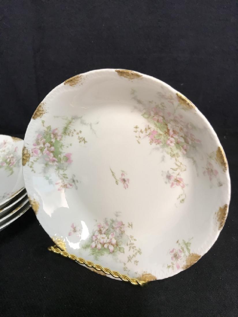 Set 5 LIMOGE TheodoreHaviland French Soup Bowls - 2