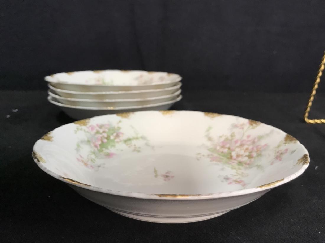 Set 5 LIMOGE TheodoreHaviland French Soup Bowls - 4