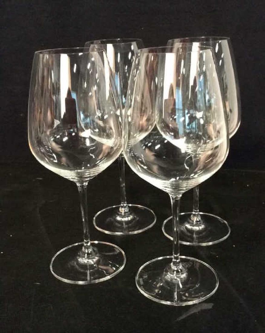 Set 4 Oversized Riedel Crystal Wine Goblets - 2