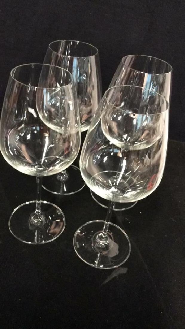 Set 4 Oversized Riedel Crystal Wine Goblets - 3