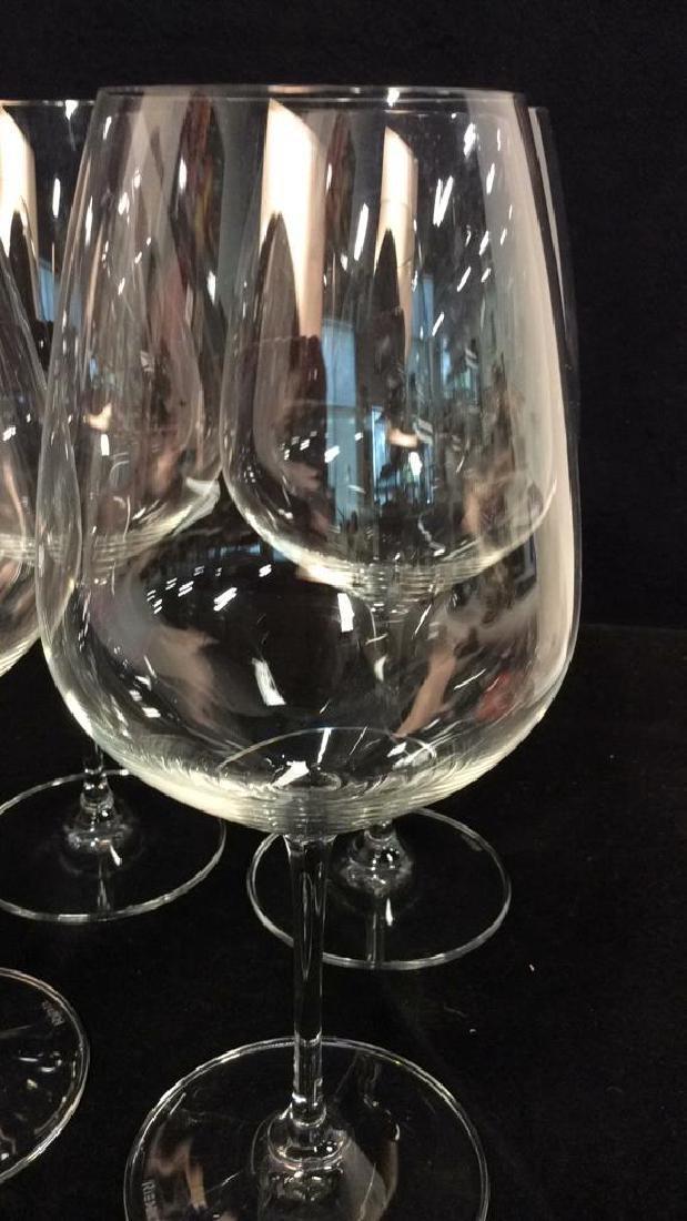 Set 4 Oversized Riedel Crystal Wine Goblets - 5