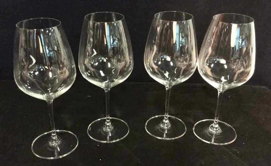 Set 4 Oversized Riedel Crystal Wine Goblets - 6