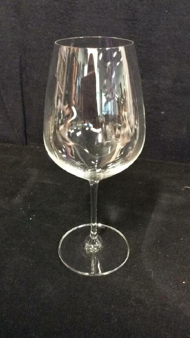 Set 4 Oversized Riedel Crystal Wine Goblets - 7