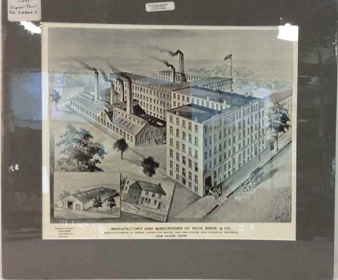 Original Print Peck Bros & Co New Haven, 1893 - 2