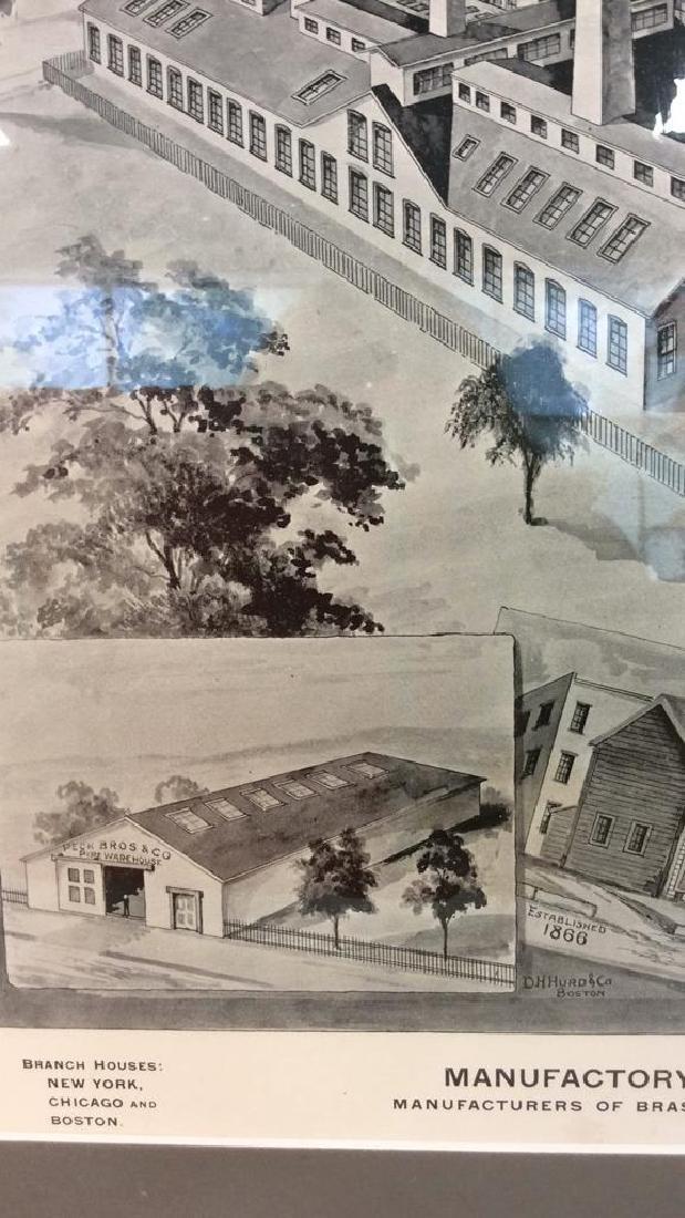 Original Print Peck Bros & Co New Haven, 1893 - 6