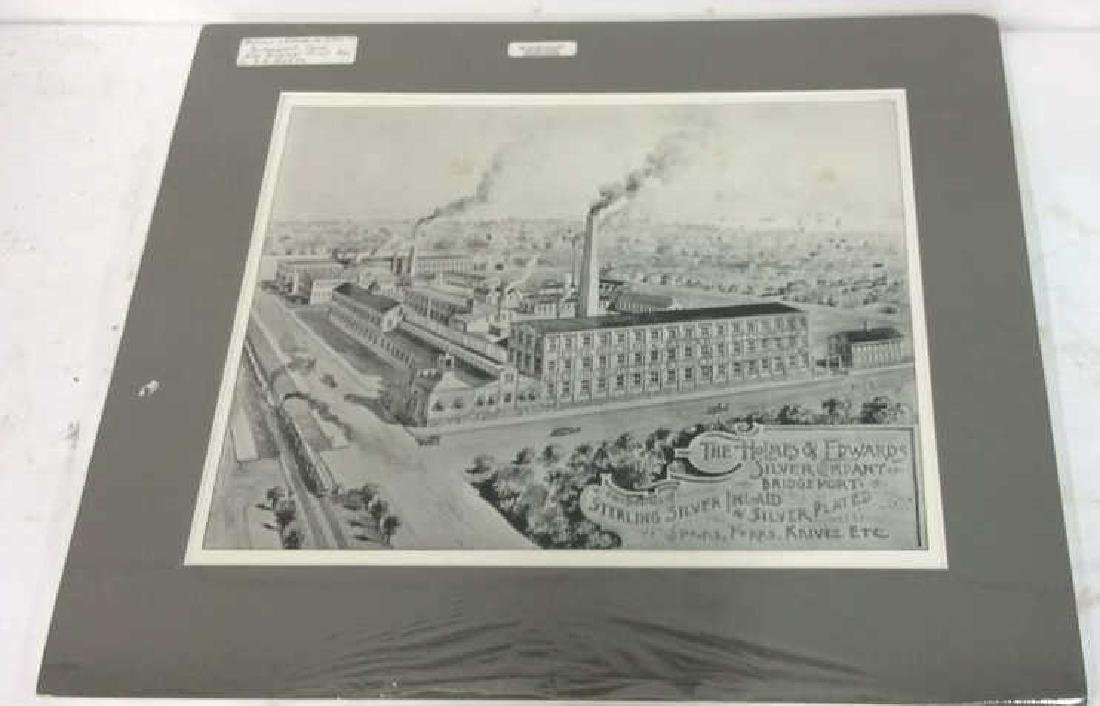 1893 Original Print Holmes & Edwards Silver Co - 2