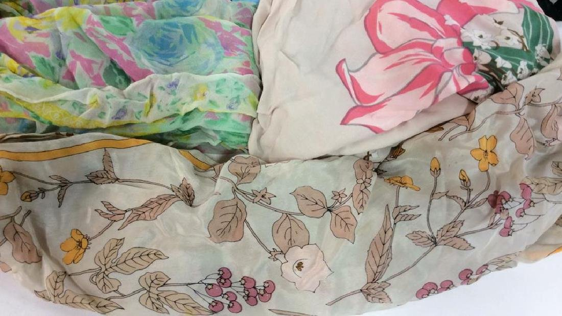 Group Lot  VIntage  Ladies Scarves - 2