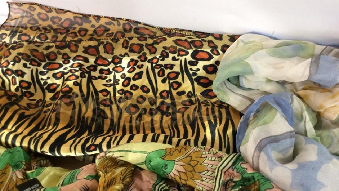 Group Lot  VIntage  Ladies Scarves - 7