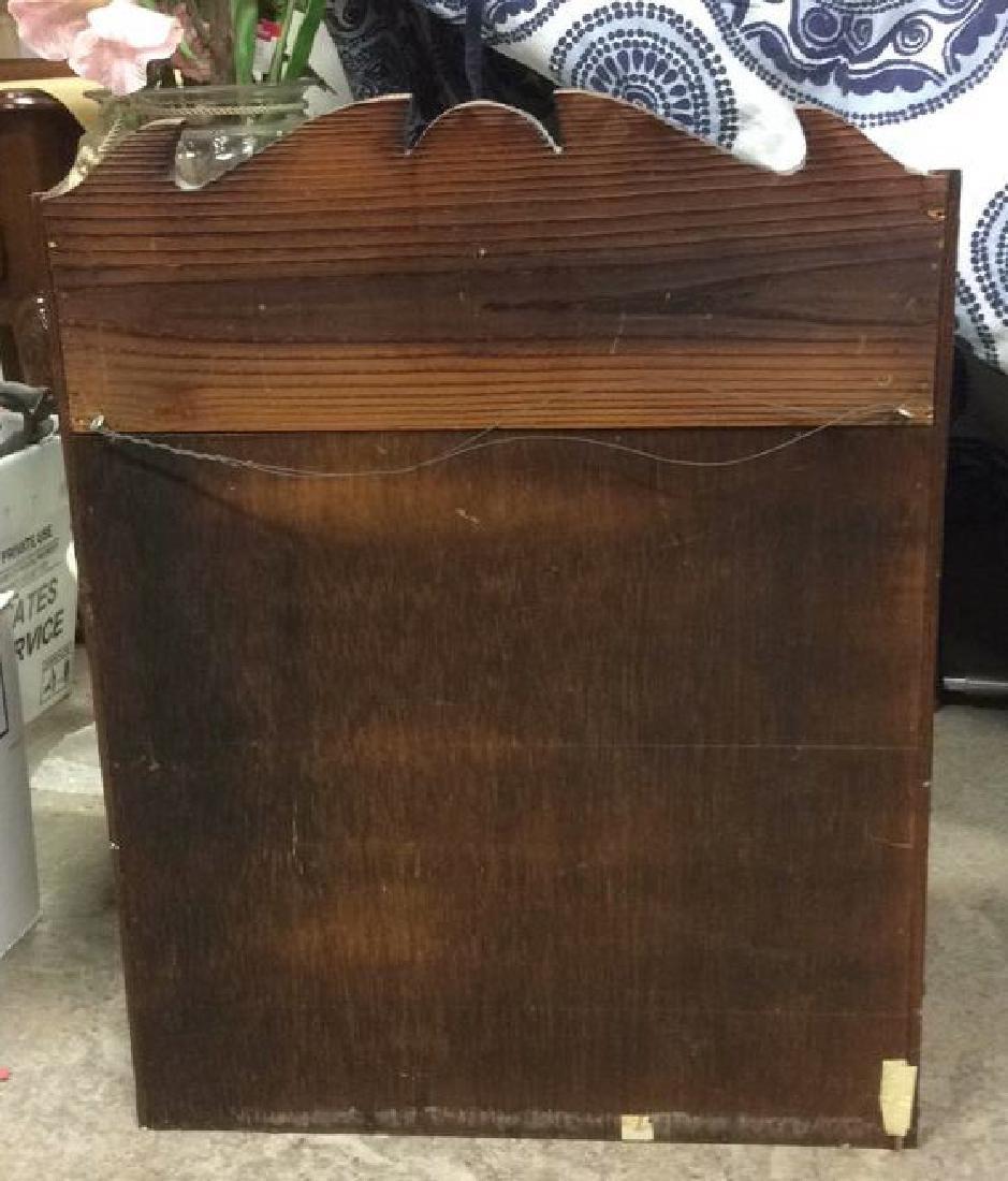 Carved Eastlake Wooden 3 Level Wall Shelf - 6