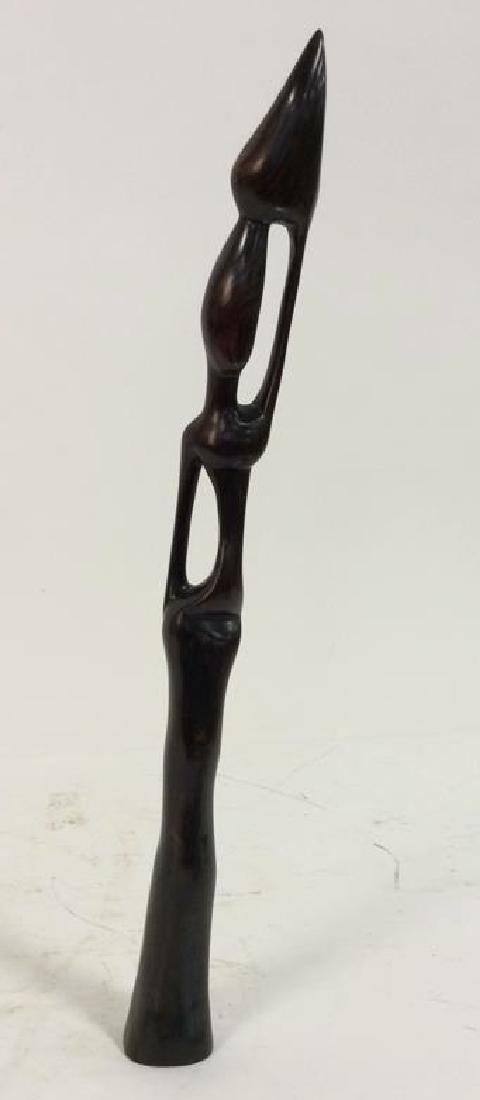 Carved Wooden Figural African Style - 3