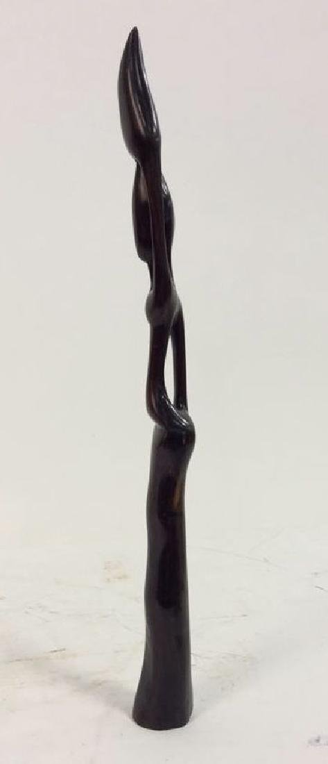 Carved Wooden Figural African Style - 8
