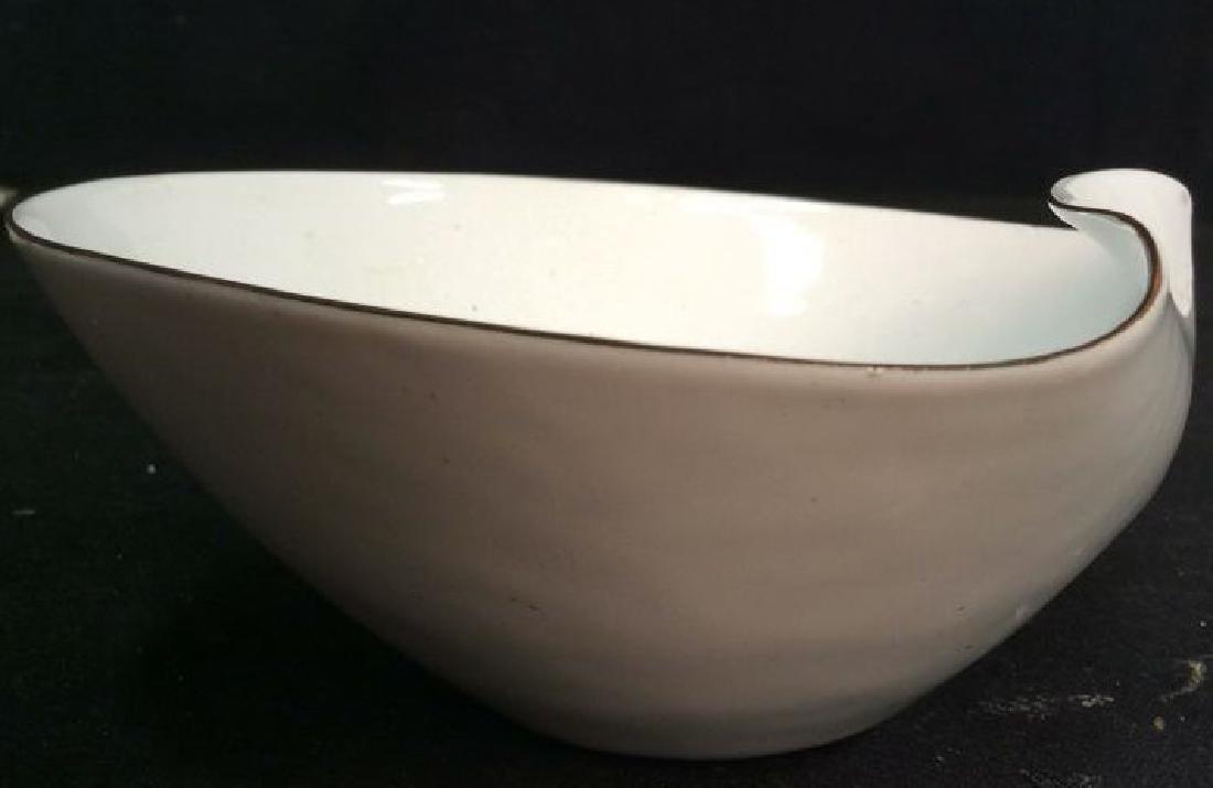 KILN marked contemporary enamel Candy Dish - 10