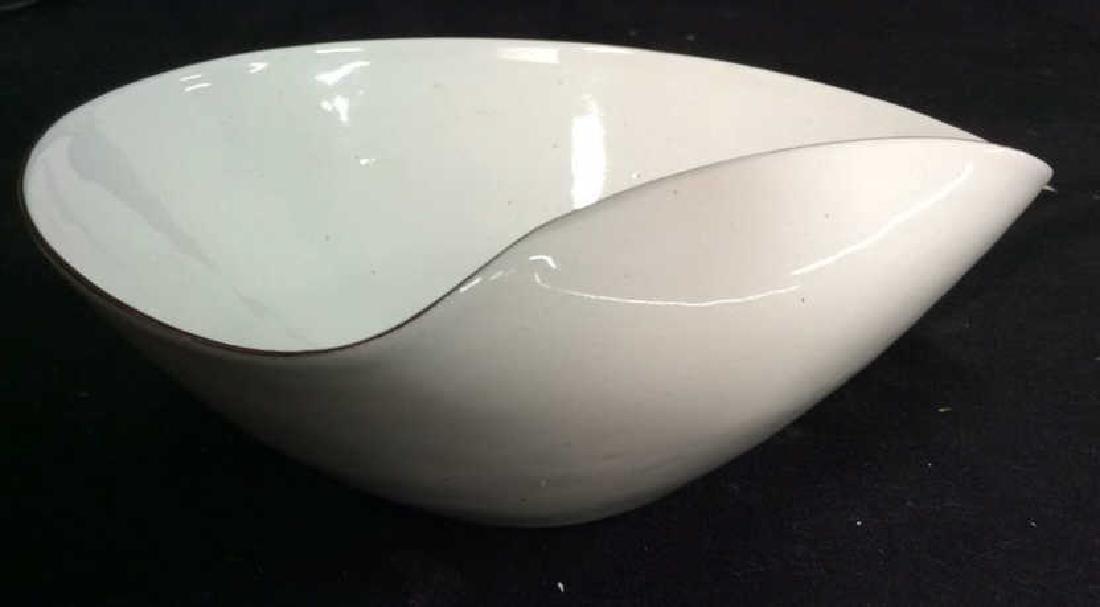 KILN marked contemporary enamel Candy Dish