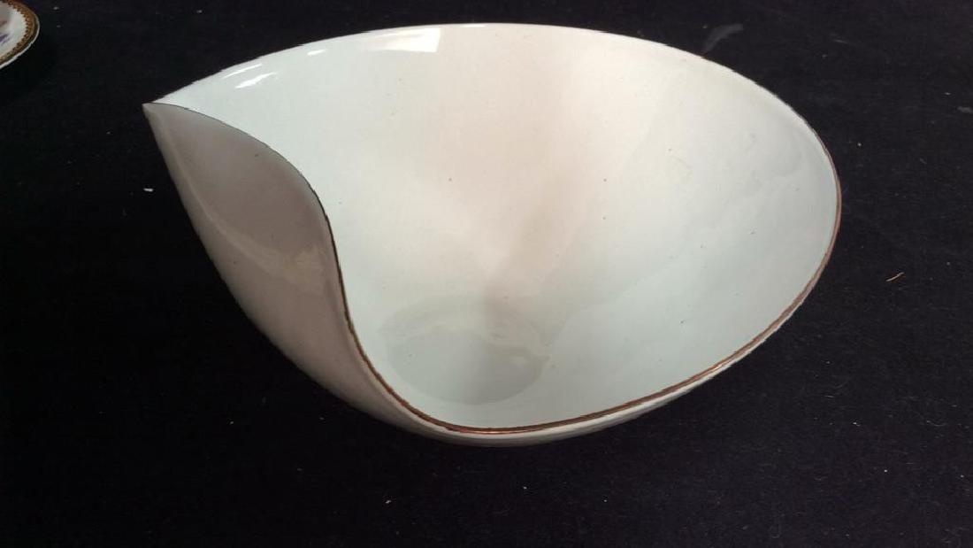 KILN marked contemporary enamel Candy Dish - 2