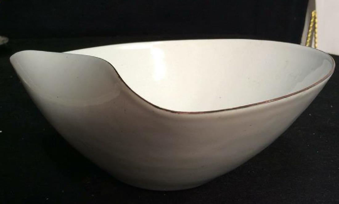 KILN marked contemporary enamel Candy Dish - 3