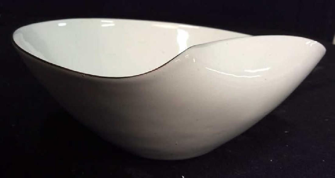 KILN marked contemporary enamel Candy Dish - 5