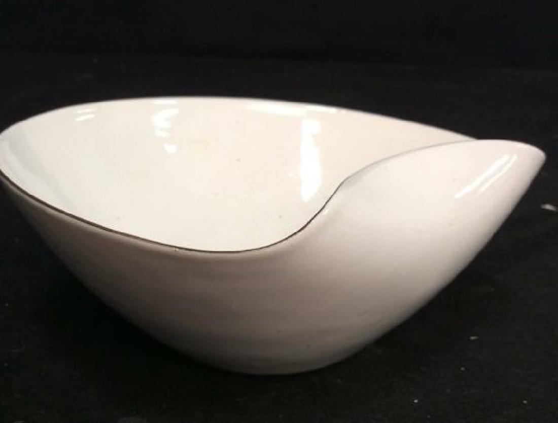 KILN marked contemporary enamel Candy Dish - 9