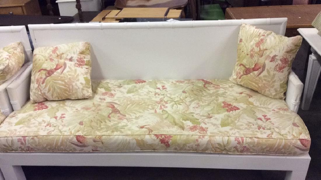 Pair custom made Oversized indoor/ outdoor sofa w - 2