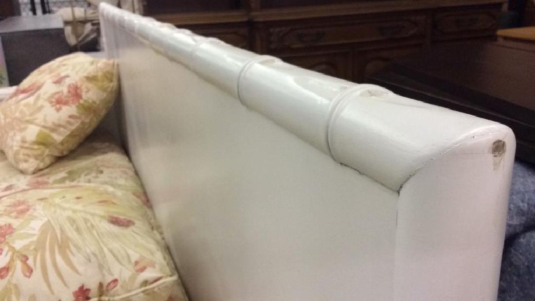 Pair custom made Oversized indoor/ outdoor sofa w - 4