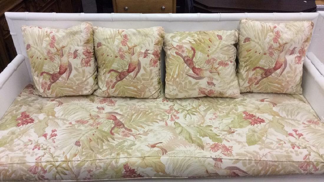Pair custom made Oversized indoor/ outdoor sofa w - 6