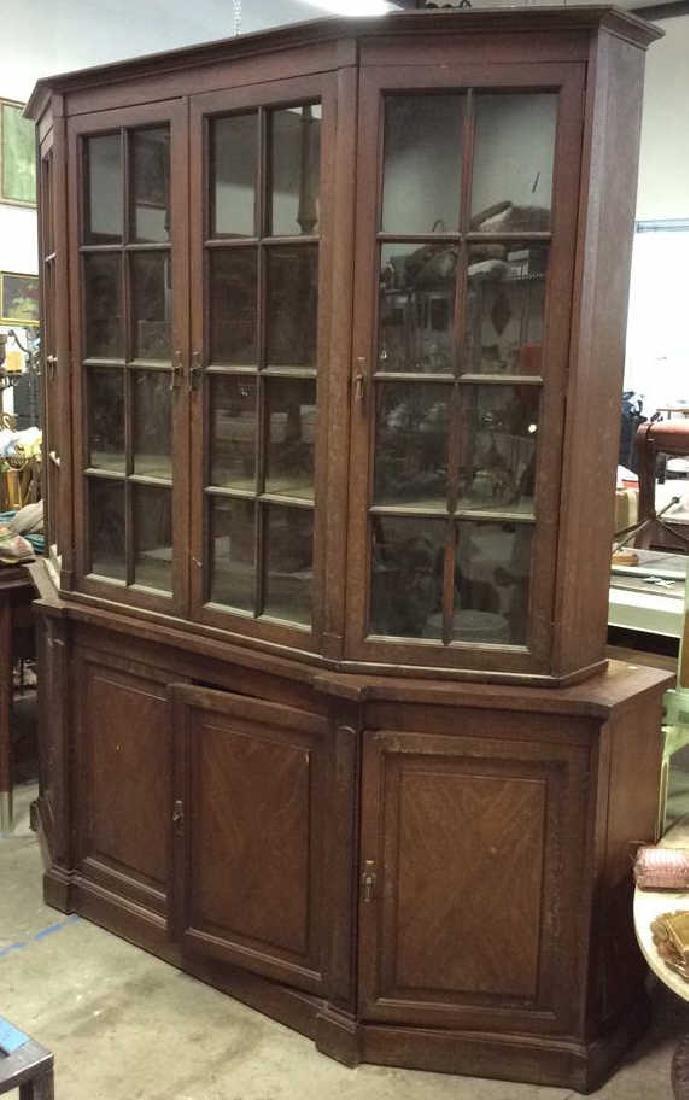 WHITE FURNITURE CO Wooden Hutch Cupboard