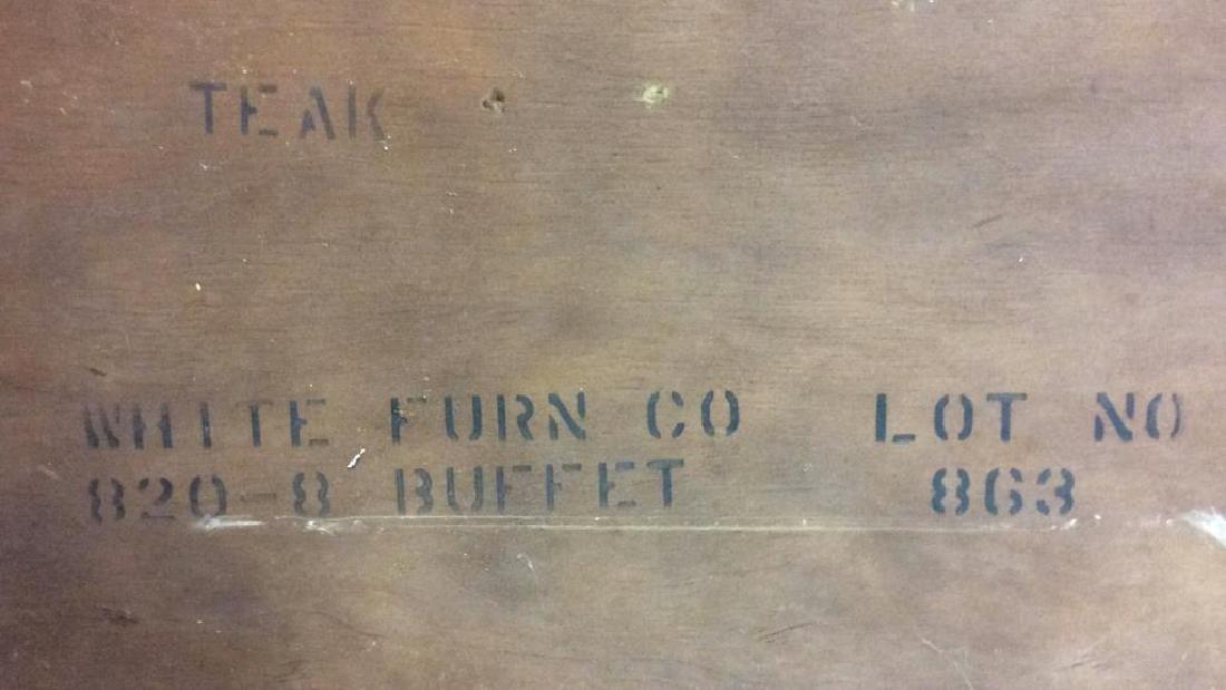 WHITE FURNITURE CO Wooden Hutch Cupboard - 2