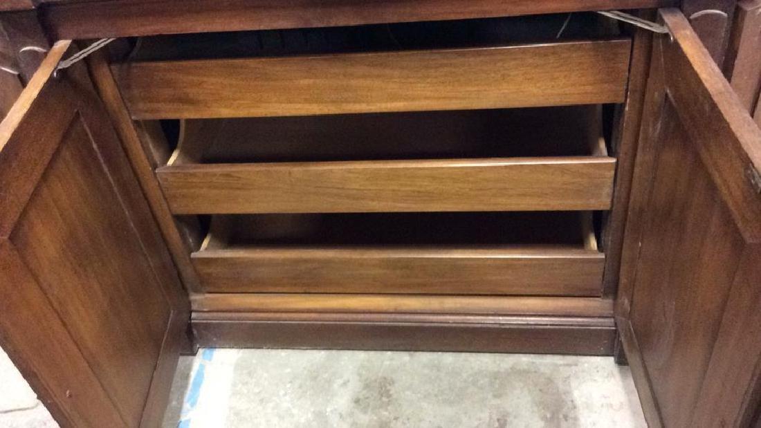 WHITE FURNITURE CO Wooden Hutch Cupboard - 4