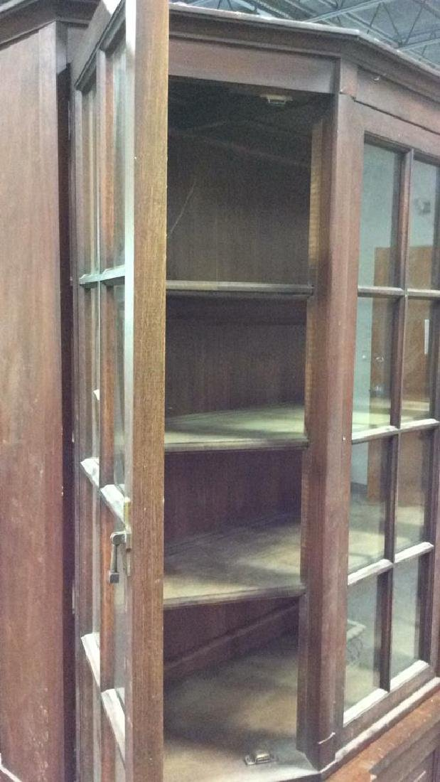 WHITE FURNITURE CO Wooden Hutch Cupboard - 7