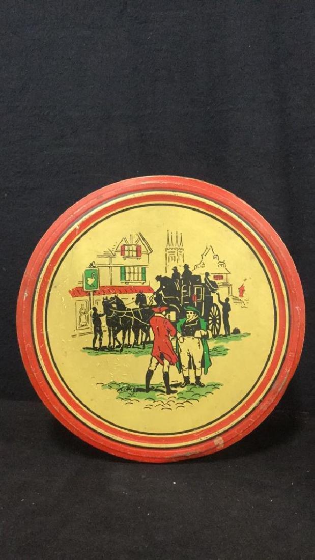 Lot 3 Vintage English Biscuit Cookie Tins - 4