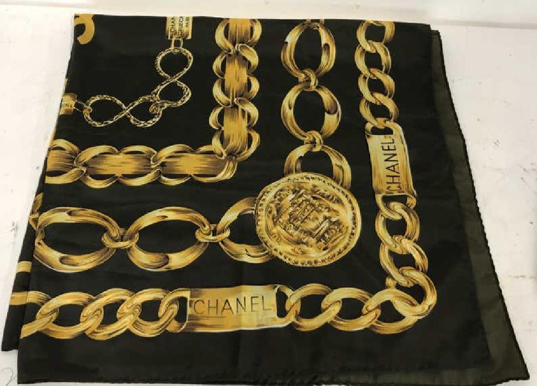 Chanel Ladies Silk Scarf Paris France - 2