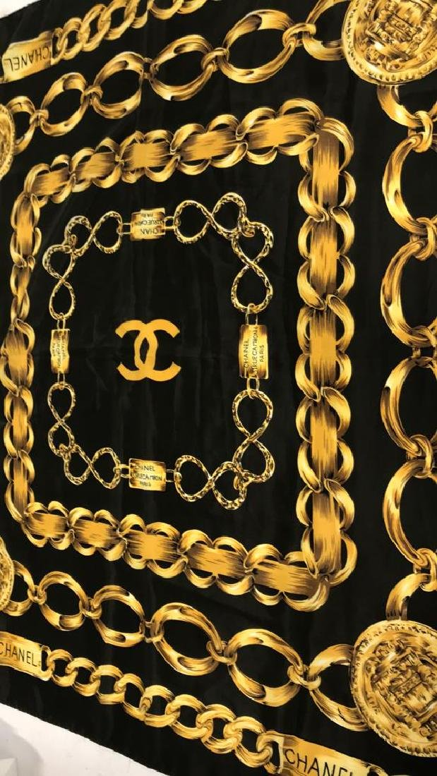 Chanel Ladies Silk Scarf Paris France - 5