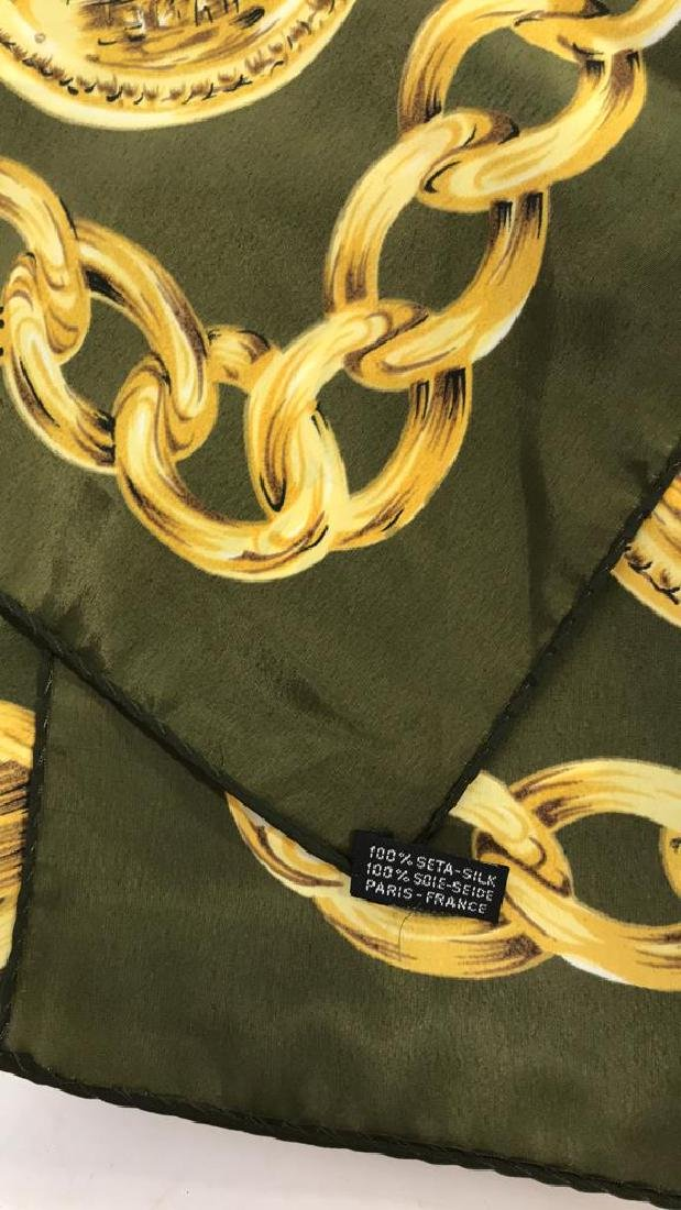 Chanel Ladies Silk Scarf Paris France - 8