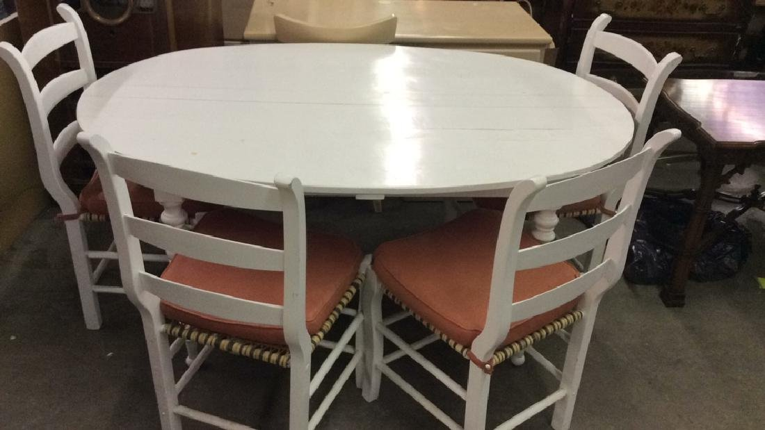 Lot 5 LOCKSON dining table with chairs, Dining Set